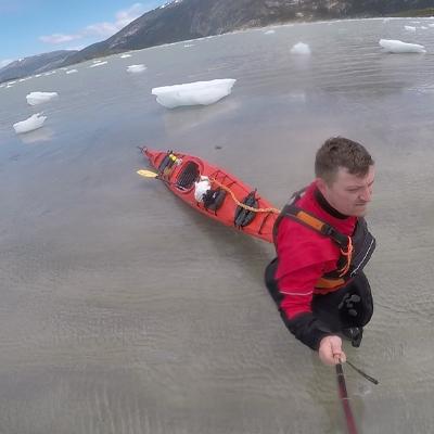 Kayak en Ushuaia