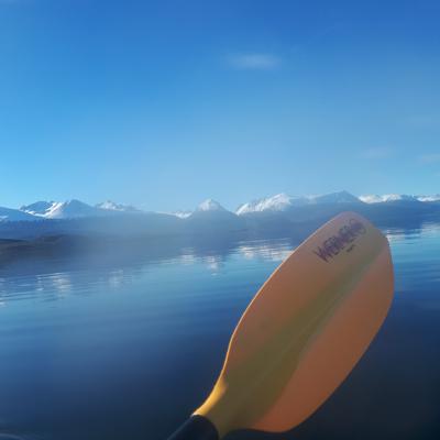 kayak en Tierra del Fuego